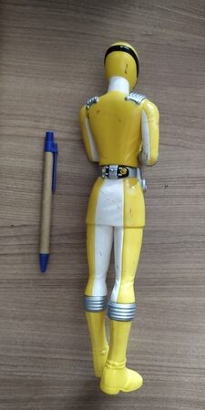 Power Rangers Yellow Overdrive Ranger